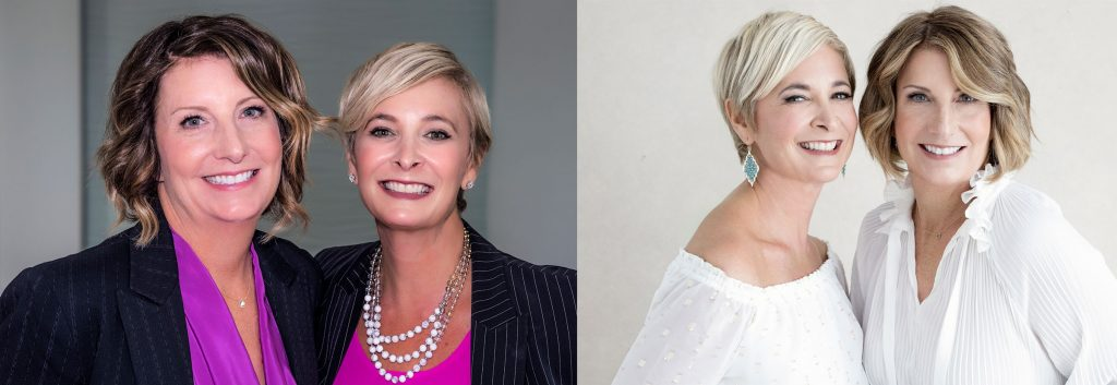 Before and After photograph of local realtors